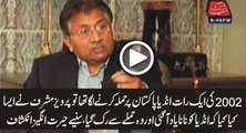 Parvez Musharraf Telling What He Did When India Was Going to Attack Pakistan in 2002