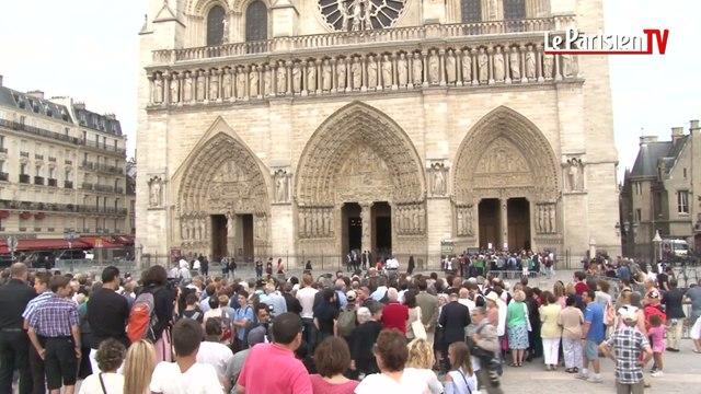 Hommage au prêtre assassiné à Notre-Dame de Paris