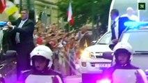 Le pape est arrivé aux Journées mondiales de la jeunesse