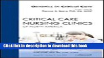 Download Genetics in Critical Care, An Issue of Critical Care Nursing Clinics Ebook Free