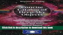 Download Concise Catalog of Deep-Sky Objects: Astrophysical Information for 550 Galaxies, Clusters
