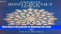[PDF] Favorite Irish Crochet Designs [Download] Online