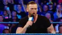 Rhyno returns to WWE on SmackDown Live to Gore Heath Slater  SmackDown Live, July 26, 2016
