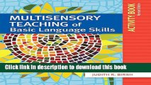 [Download] Multisensory Teaching of Basic Language Skills Activity Book, Revised Edition Free Books