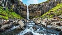 Time lapse de l'Islande