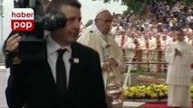 Papa Francis yere böyle düştü #papa #düştü