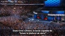 "Obama: Clinton la seule capable de ""briser le plafond de verre"""