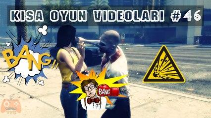 GTA'da Sigaraya Halkın Tepkisi - Kısa Oyun Videoları #46