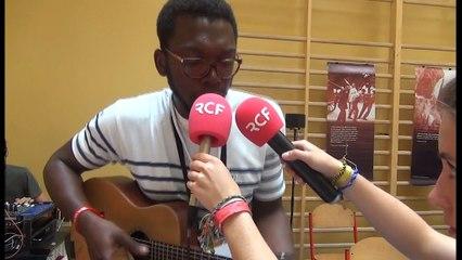 Gaëtan Ziga, des Young Caritas Essonne, invité de Midi Aux JMJ sur RCF