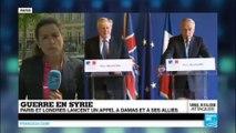 Guerre en Syrie : Paris et Londres lancent un appel à Damas pour relancer les négociations de paix en Syrie