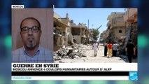 Syrie : Bachar el-Assad annonce l'amnistie des rebelles qui déposeraient les armes à Alep