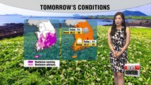 Sporadic rain likely in the inland regions, sizzling southern regions
