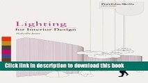 Read Book Lighting for Interior Design (Portfolio Skills) ebook textbooks