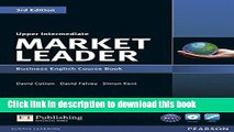 Download Market Leader Upper Intermediate Course Book with DVD-ROM  PDF Free