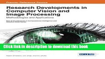 Download Research Developments in Computer Vision and Image Processing: Methodologies and