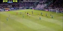 Panathinaikos Big chance to score - Panathinaikos 0-0 AIK - 28-07-2016