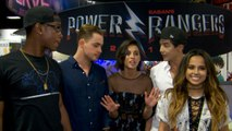 Power Rangers Cast Powers Up At Comic-Con