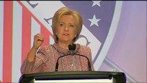 Hillary Clinton recebe apoio de Barack Obama