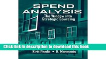 Read Spend Analysis: The Window into Strategic Sourcing  PDF Online