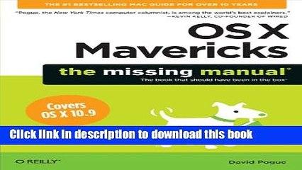 Mac mavericks manual free