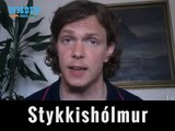 Icelandic vocabulary lesson :Jakob Wayne Víkingur Robertson