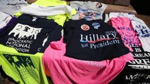These vendors at the Democratic convention don't see much enthusiasm for Clinton