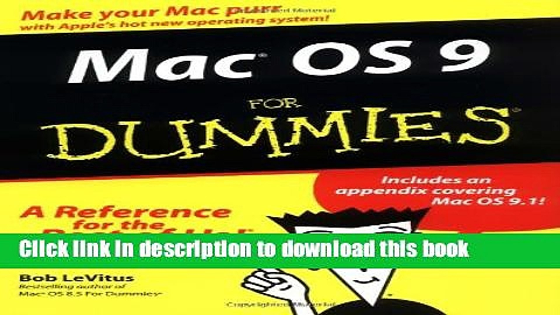 Download Mac OS 9 For Dummies PDF Online