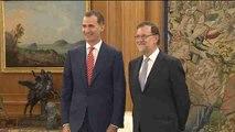 Rajoy acepta el encargo del Rey pero no aclara si se someterá a la investidura