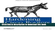 [Read PDF] Hardening Cisco Routers (O Reilly Networking)  Full EBook