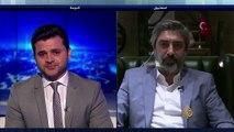 اسمي محمد نجاتي شاشماز لقاء مراد علمدار على قناة الجزيرة