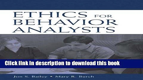 Read Ethics for Behavior Analysts: A Practical Guide to the Behavior Analyst Certification Board