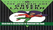 [PDF] Golden Age, The: Green Lantern - Archives, Volume 1 (Golden Age Green Latern Archives) Free