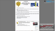 Gendarmerie Nationale Virus Removal Guide
