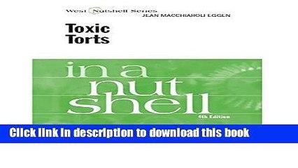 toxic torts cranor carl f