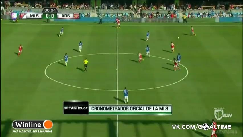 MLS All-Stars 1-2 Arsenal All Goals & Highlights HD 28.07.2016