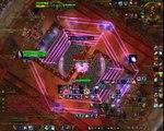 World of Warcraft: Warlords of Draenor ( 6.1.2) - Arcane Mage VS Hexos