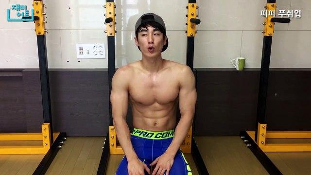 [Shoulder Workout] PP(pseudo planche)Pushup