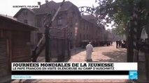 Journées Mondiales de la Jeunesse : le pape François en visite au camp d'extermination d'Auschwitz-Birkenau