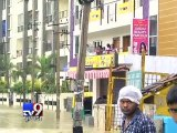 Heavy Rain Leaves Bangalore crippled, Boats On Roads, People Seen Fishing After Heavy Rain - Tv9