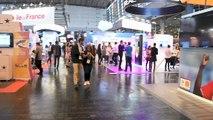 Pitch de la société Famoco sur le stand @orange lors du salon Viva Technology