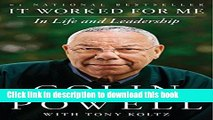Read Books It Worked for Me: In Life and Leadership ebook textbooks