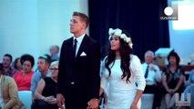 Une mariée émue par un Haka en son honneur en Nouvelle Zélande