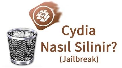 Cydia (Jailbreak) Nasıl Silinir?