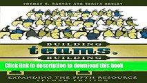 Read Books Building Teams, Building People : Expanding the Fifth Resource Second Edition ebook