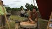Artisanat gaulois et marché des curiosités à Jublains
