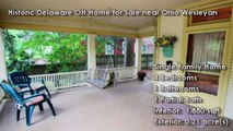 Historic Delaware OH Home for Sale near Ohio Wesleyan   38 Montrose Ave