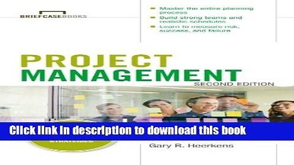 Read Project Management, Second Edition (Briefcase Books Series)  Ebook Free