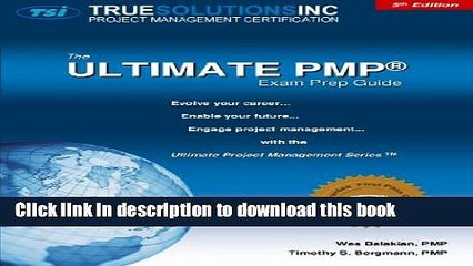 Download The Ultimate PMP Exam Prep Guide 5th Edition  PDF Free