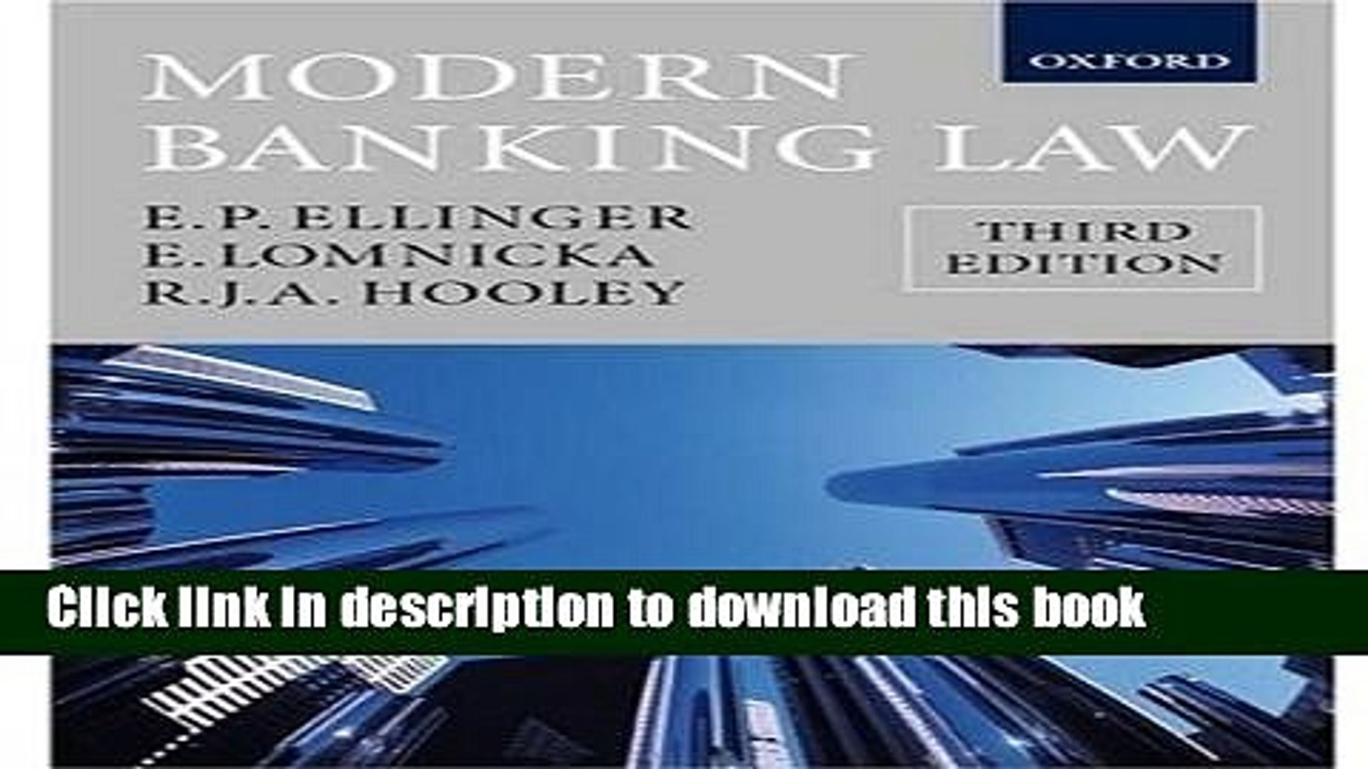 [Read PDF] Modern Banking Law Download Online