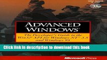 Read Advanced Windows: The Developer s Guide to the WIN32 API for Windows NT 3.5 and Windows 95